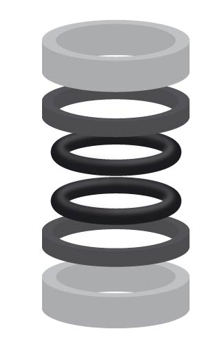 Dichtsatz für Suttner Drehgelenke ST-320