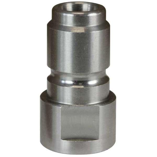 Nippel ST-3100 1/4IG Edelstahl-weich 1.4305