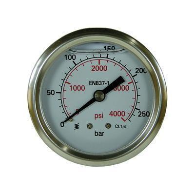 "Manometer 0-250 D=50 mm 1/4"" AG"