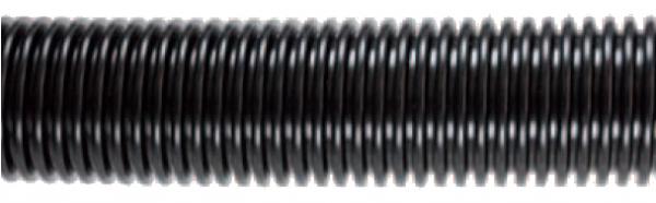 Staubsaugerschlauch DN 50 mm schwarz Meterware