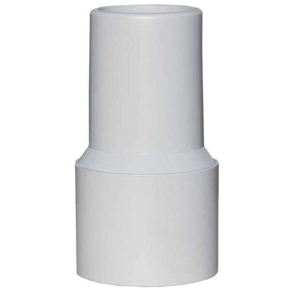 CarWash Staubsaugerschlauch Muffe 38mm Zubehör 45/38mm starr Gummi