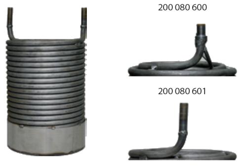 Heizschlange für WAP C / CS / DX bis 06/98