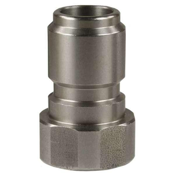 Nippel ST-3100 3/8IG Edelstahl-hart