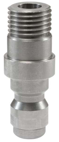 Nippel ST-245 1/4AG 42mm Edelstahl