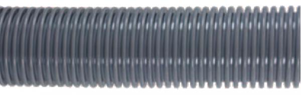 Staubsaugerschlauch DN 38 mm grau Meterware