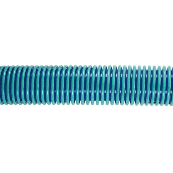 CarWash Staubsaugerschlauch DN38mm 16 Meter Rolle blau/türkis