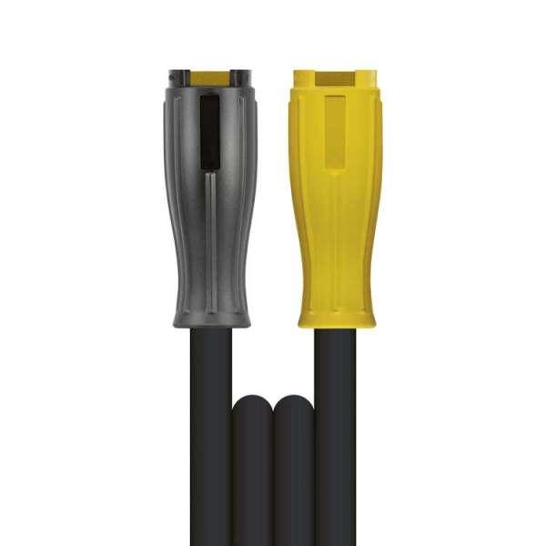 Hochdruckschlauch 1SN-08 glatt schwarz ST-146-M22 Länge wählbar