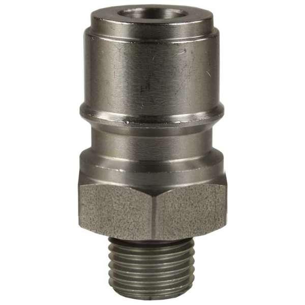 Nippel ST-45-250 1/4AG Edelstahl-hart